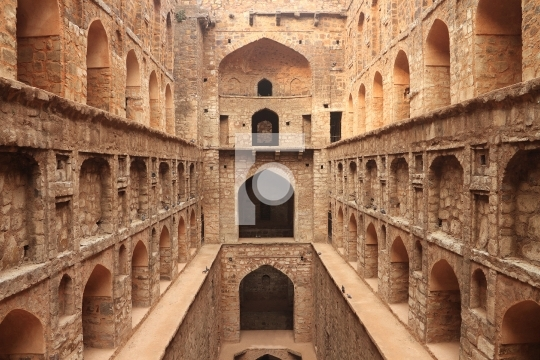 Agrasen ki Baoli (Step Well), Ancient Construction, New Delhi, I