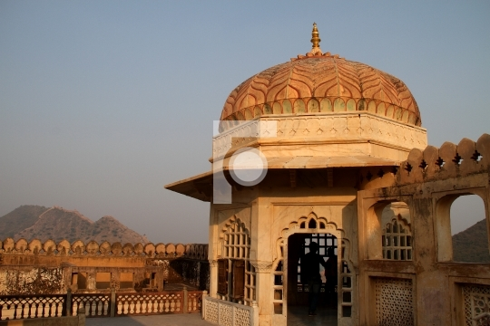 Amber / Amer Fort, Jaipur, Rajasthan, India Stock Photo