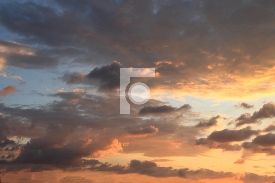 Beautiful Evening Sky Royalty Free Photo