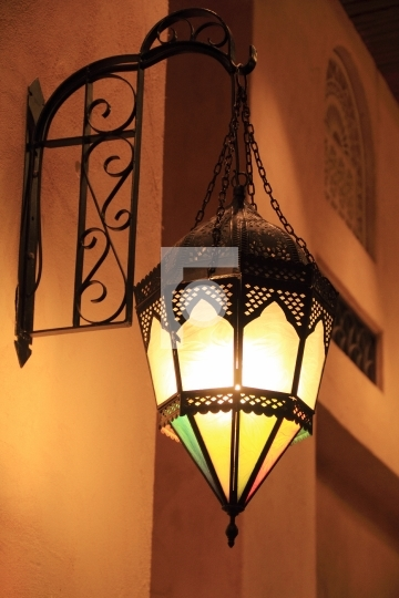 Beautiful Old Style Islamic / Arabic Lamp - Ramadan / Eid Celebr