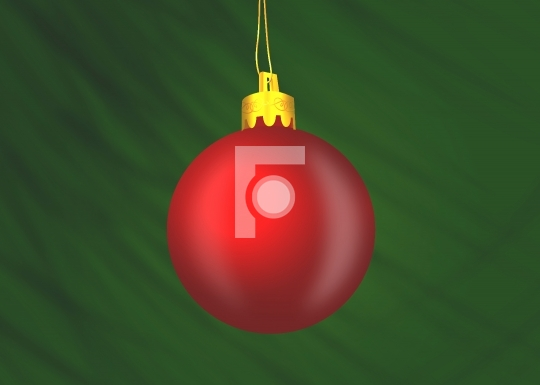 Christmas Ornament Illustration
