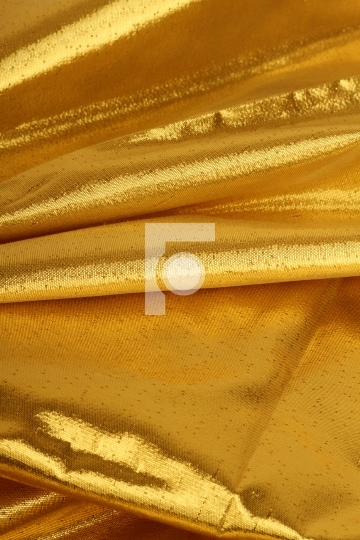 Detail of a golden color fabric