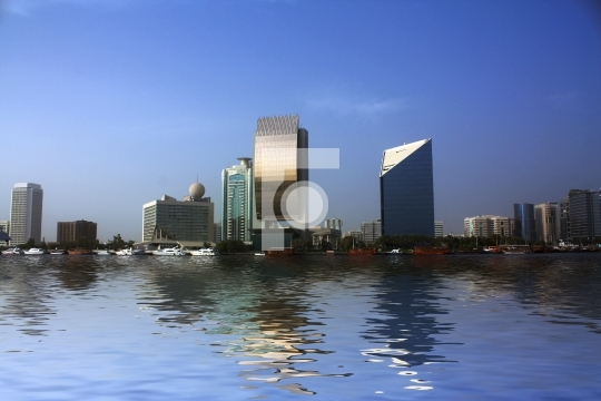 Dubai Creek Buildings, United Arab Emirates