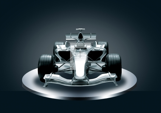 Formula One Car Stock Photo