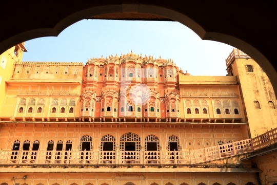 Hawa Mahal - Wind Palace in Jaipur, Rajasthan, India