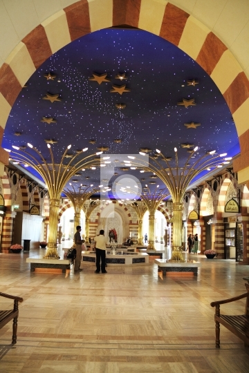 Luxury Dubai Shopping Mall Interiors