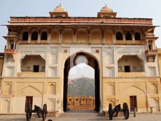 Nahargarh Fort, Jaipur, Rajasthan Entrance Stock Photo