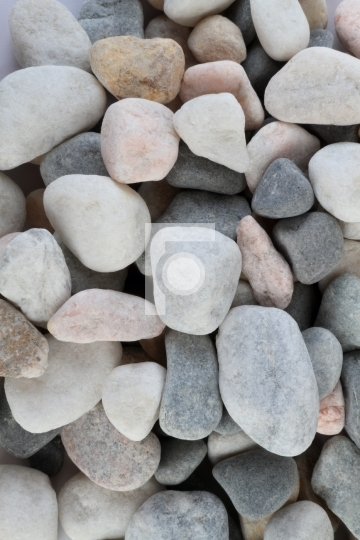 Natural River Stones Background Free Photo