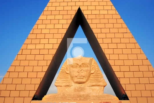 Pyramid - Egyptian Sphinx