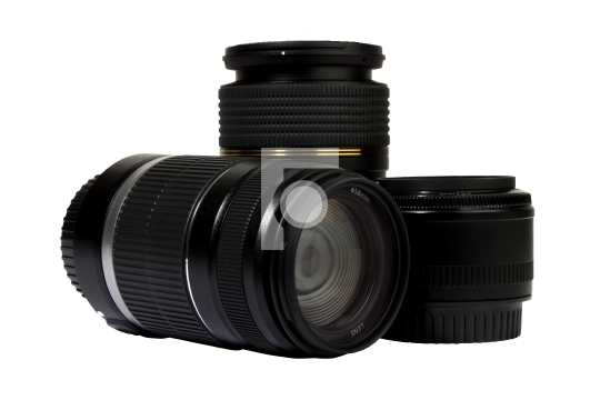 three digital lenses