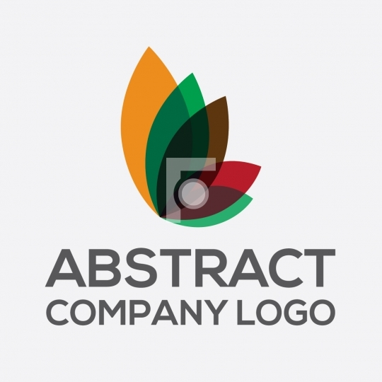 Abstract Butterfly / Flower Company Logo Vector Format