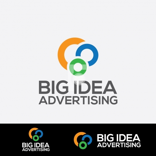 Big Idea Advertising Design Agency Logo - Readymade Company Logo
