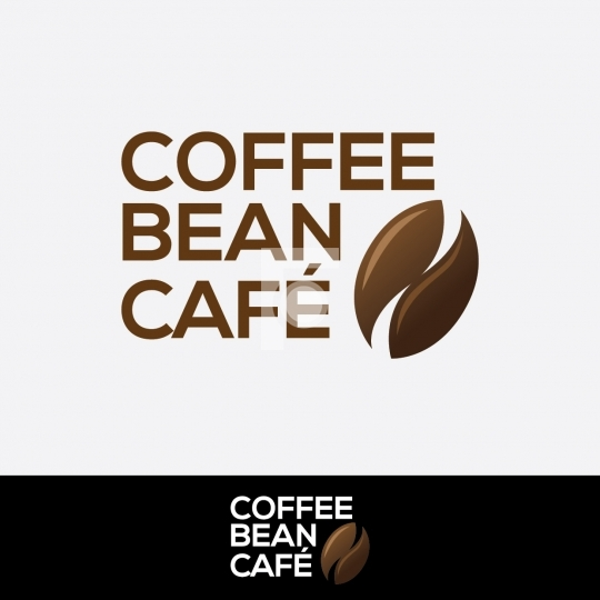 Coffee Beans Cafe Logo - Readymade Restaurant Logo Design Templa