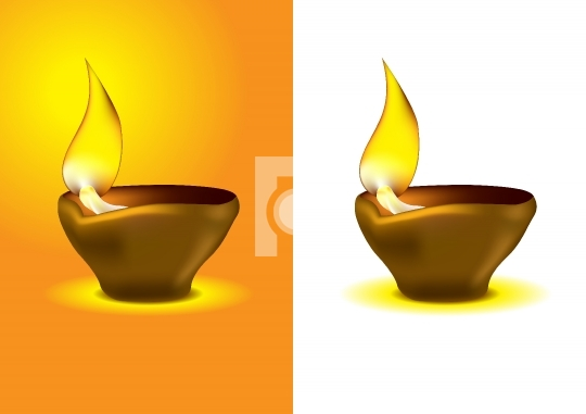 Diwali Diya - Oil lamp for dipawali celebration