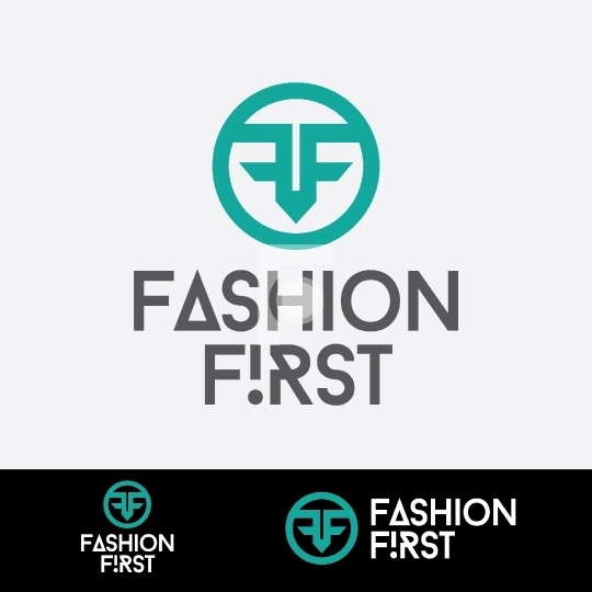 F letter Logo - Fashion First Readymade Company Logo Design Temp