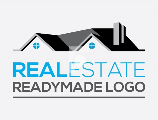 House / Home Real Estate Property Dealer Vector Logo