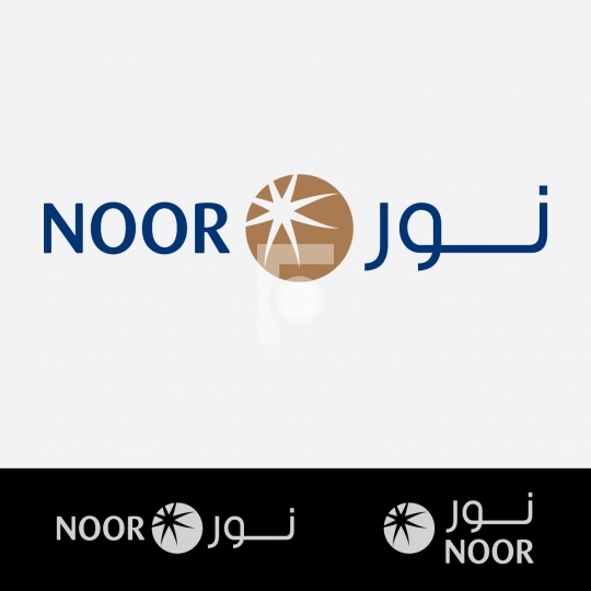 Noor Arabic Middle East Logo - Readymade Company Logo