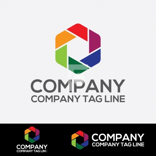 Photography Studio Logo - Readymade Company Logo Design Template
