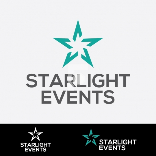 Star Light Events Logo - Readymade Events Company Logo Design Te