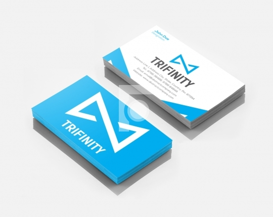 Trifinity Infinity Logo Design & Business Card Template