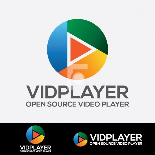 Video Player Royalty Free Logo - Vector Download