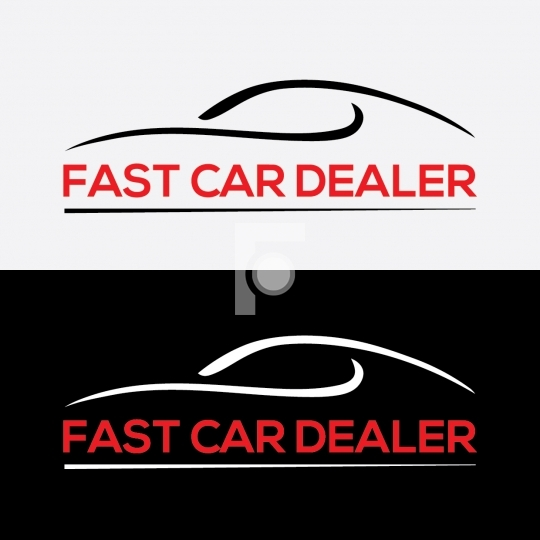 Fast Card Dealer Logo Readymade Company Logo Design Template